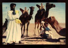 B7592 ETHNIC FLOKLORE MOROCCO - HOMME BLEUS ET LEURS MEHARA - Africa