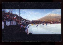 B7604 CAMPIONATI DI PATTINAGGIO SUL GHIACCIO BASELGA DI PINÉ FEBBRAIO 1995 - WORLD SPEED SKATING CHAMPIONSHIP FOR MEN - Manifestazioni