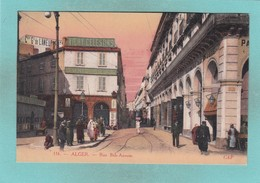 Old Post Card Of Rue Bab-Azoum,Alger,Algiers, Algeria,Africa,S67. - Algiers