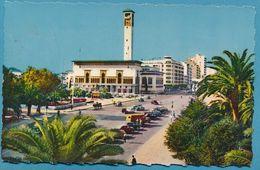 CASABLANCA - Les Services Municipaux Et L'Avenue D'Amade Carte Circulé 1956 - Casablanca