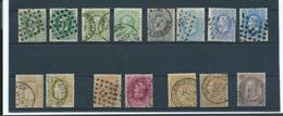 Lot De Leopold 2 - Différentes Teintes - Dont 31 L82 Chimay - 1869-1883 Léopold II