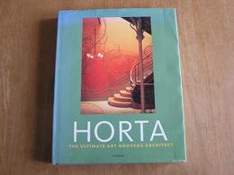 HORTA The Ultimate Art Nouveau Architect Architecture Beaux Arts Bruxelles Belgium Solvay House Furniture Studio Déco - Architecture