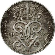 Monnaie, Suède, Gustaf V, 2 Öre, 1942, TTB, Iron, KM:811 - Suède