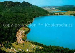 73339393 Klopeinersee Fliegeraufnahme Camping  Klopeinersee - Österreich