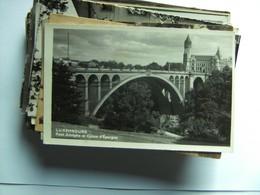 Luxemburg Luxembourg Pont Adolphe Et Panorama Du Ville - Luxemburg - Stad
