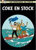 CP - Thèmes - Bandes Dessinées - Tintin - Coke En Stock - Bandes Dessinées