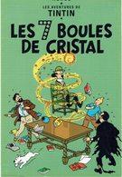 CP - Thèmes - Bandes Dessinées - Tintin - Les 7 Boules De Cristal - Bandes Dessinées