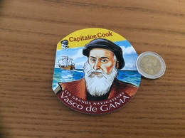 Chromo Capitaine Cook «LES GRANDS NAVIGATEURS - Vasco De GAMA» (livret, BD, 12 Pages) - Chromos