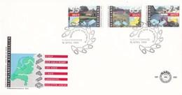Nederland - FDC - Zomerzegels - Boederijen - Wartena/Kesteren/Nuth - NVPH E282 - Monumenten