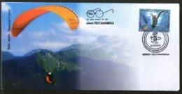 India 2018 Paragliding Tourism Bir Billing Adventure Sport Specal Cover # 6875 - Holidays & Tourism