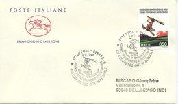ITALIA - FDC  CAVALLINO 1996 -  SCIENZE PREISTORICHE - ANNULLO SPECIALE FORLI - 6. 1946-.. Repubblica