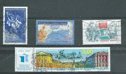 FRANCE   Yvert  N° 3058-3072-3073-3103  Oblitérés - France