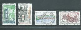 FRANCE   Yvert  N° 3079-3080-3107-3108  Oblitérés - France