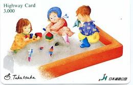 Jeu BD  Carte Prépayée Japon Karte Card (D 364) - Jeux