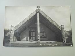 NOUVELLE ZELANDE MAORI HOUSE TE KUITI F.G.R. 4388 - Nouvelle-Zélande