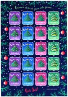 ALAND 2018 CHRISTMAS SEALS SHEETLET Of 20v** - Aland