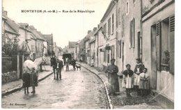 MONTHYON ... RUE DE LA REPUBLIQUE - France