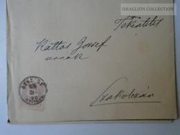 ZA104.13  Szotinafalva Szottina  Sotin -   Szenicz -  Senica Senitz - 1890 - Obituary -Kisvicsapi Id. Koronthály Jenő - Slovaquie