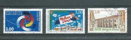 FRANCE   Yvert  N° 3112-3125-3143  Oblitérés - France