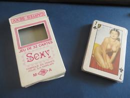 Jeux 32 Cartes Encore Sous Cellofane,sexy Femmes Nues - Playing Cards (classic)