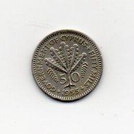 Cipro - 1955 - 50 Mils - Vedi Foto - (MW1667) - Chypre