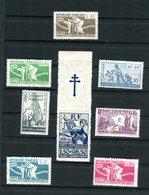 Colonies Générales - Série 60/65 + P.A. 1 ,  Neufs ** , Papier Et Gomme Coloniale - O 334 - Frankreich (alte Kolonien Und Herrschaften)