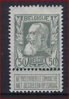 Nr. 78  * MH Postfris Met Plakker En In Goede Staat ; Zie Ook Scan ! Inzet Aan 20 Euro (OBP = 120 €) ! - 1905 Thick Beard