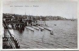ESPAGNE(SANTANDER) BATEAU DE GUERRE - Cantabria (Santander)