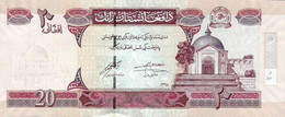 AFGHANISTAN P. 68f 20 A 2008 UNC - Afghanistan