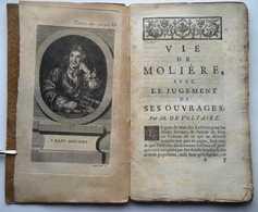 Vie De Molière Avec Le Jugement De Ses Ouvrages. - 1701-1800