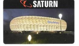 Germany - Saturn - München Munich Alianzarena - Carte Cadeau - Carta Regalo - Gift Card - Geschenkkarte - Gift Cards