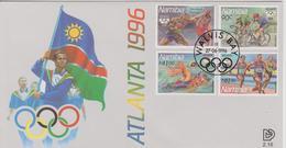FDC NAMIBIE JEUX OLYMPIQUES  D'ATLANTA  1996 - Summer 1996: Atlanta