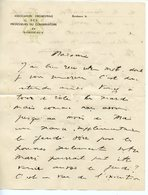 VIOLONISTE ET CHEF D'ORCHESTRE GASTON POULET (PARIS 1892-DRAVEIL 1974) LAS DU CONSERVATOIRE DE BORDEAUX (ENVELOPPE) - Autographs