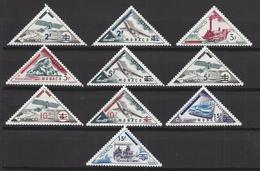 Monaco - YT N° 453 à 462 - Neuf Sans Charnière - 1956 - Monaco