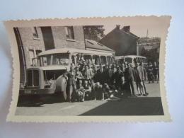 Belgie Belgique 1947 Foto Photo Bus  Format 9,2 X 6,3 Cm - Transports