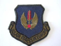 Patch Stoffen Schildje Blazoen US Air Forces In Europe Insigne - Militaria
