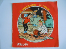 Suske En Wiske Bob Et Bobette De Schatgravers -  Le Trésor Knorr 1978 Flexi-disc 33t - Speciale Formaten