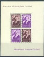BELGIUM - MVLH/*  - 1937 - FONDATION MUSICALE REINE ELISABETH  - COB BL 7 - Lot 17971 - STAMPS ARE MNH/*** - Blocks & Kleinbögen 1924-1960