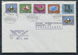 1960 Switzerland Automobil Postbureau / Mobile Post Office Cover. Bundesfeier Bern, Pro Patria - Postmark Collection