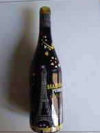 Alt1074 Bottiglia, Buteille, Vino, Vin, Beaujolais Primeur Special Edition Arts Architecture Paris Tour Eiffel - Vino