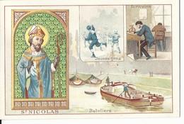 CHROMO ANCIENNE  - LES SAINTS - SAINT NICOLAS - TBE - Chromos