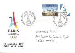 2017 Olympic Games Paris 2024: Nomination à Lima - Summer 2024: Paris