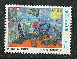 Corée Du Sud ** N° 1194 - Année Mondiale Des Communications - - Korea, South