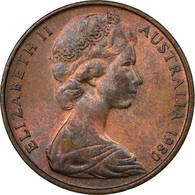 Monnaie, Australie, Elizabeth II, 2 Cents, 1980, TTB, Bronze, KM:63 - Monnaie Décimale (1966-...)