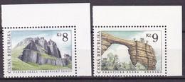 1995,  Tschechische Republik,Ceska 78/79, Schönheiten Der Heimat: Gebirgsformationen. MNH ** - Czech Republic