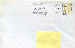 39277 Germany, Special Postmark Mainz 1997 Johannes  Gutenberg City ,goldsmith And Typographer,orfevre+typographe - Célébrités