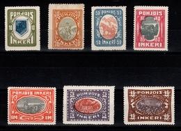 Russie / Finlande - Ingrie - Serie Complete YV 8 à 14 N** Cote 70 Euros - Russie & URSS