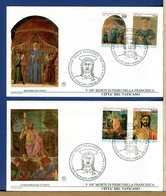 VATICANO - FDC 1992 -   PIERO DELLA FRANCESCA - FDC