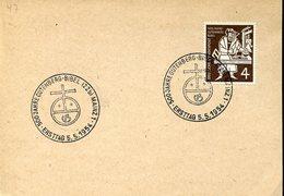 39279 Germany,  Postmark Mainz 1954 Johannes  Gutenberg Bibel, Bible  ,goldsmith And Typographer,orfevre+typographe - Célébrités