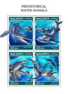 Maldives. 2018 Prehistoric Water Animals. (1104a) - Prehistorics